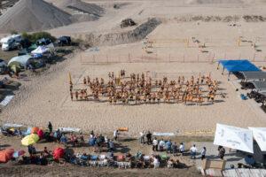 Beachvolleballfelder des SVP Schönebeck